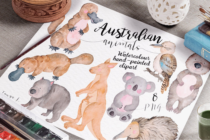 Australian Animals Clipart
