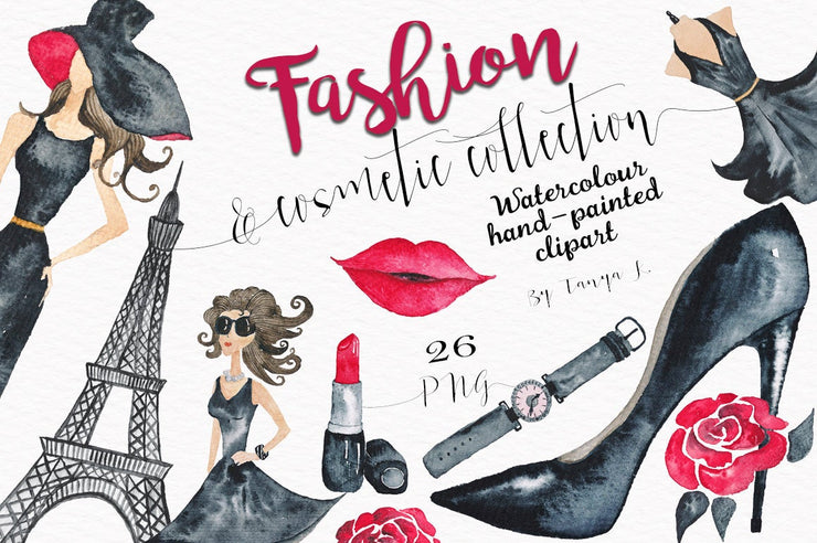 Fashion Cosmetic Clipart