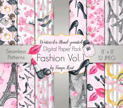 Fashion Digital Paper