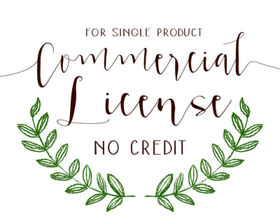 Commercial License for No Credit Use