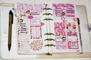 February Weekly Printable Planner Stickers for Erin Condren