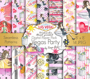 Vegas Party Paper Pack