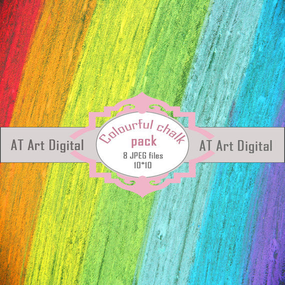 Colourful Chalk Paper