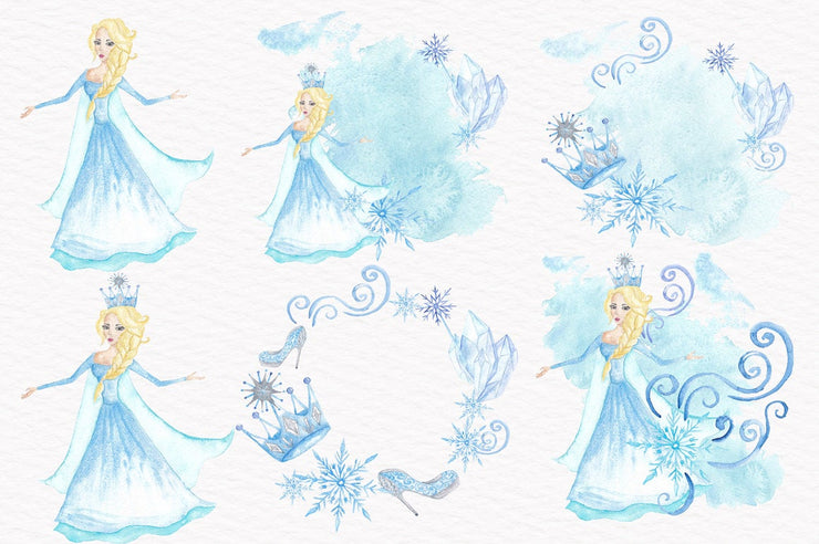 Snow Queen Clipart