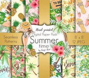 Summer Time Digital Paper