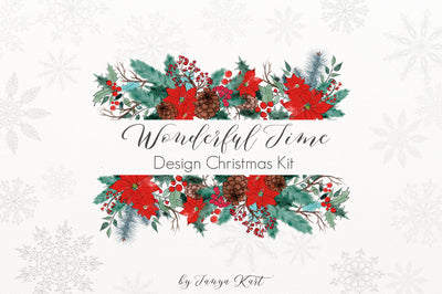 Wonderful Time Design Christmas Kit