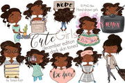Planner Girls Dark Skin Toned