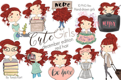 Red Hair December Girls