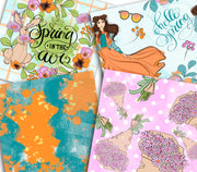 Happy Spring Paper Pack