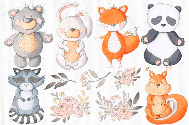 Animals Collection Clip Art