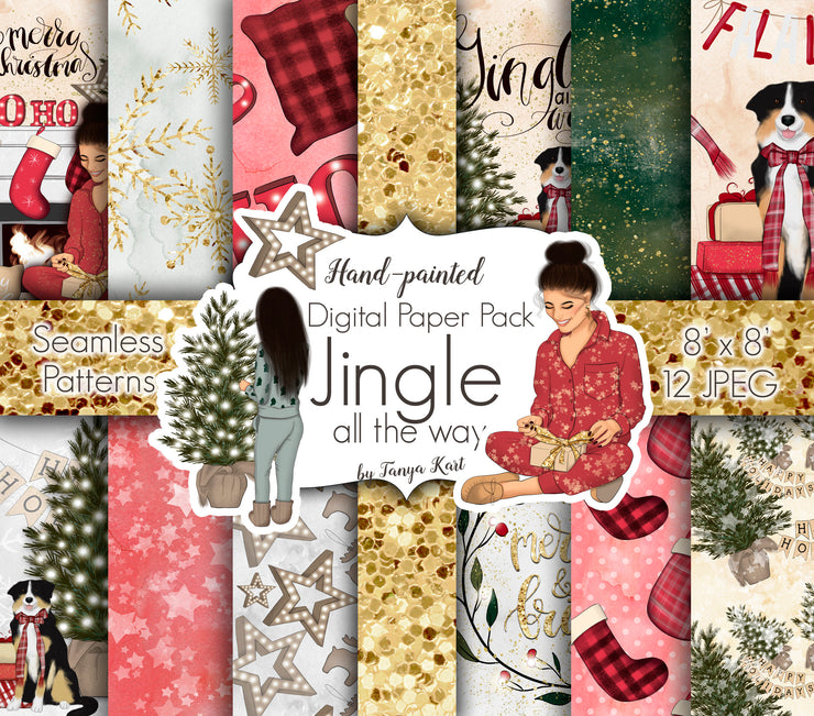 Jingle All The Way Paper