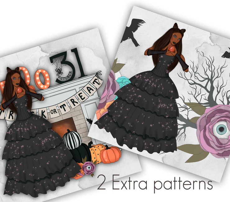 Witch Please Digital Paper