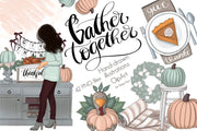 Gather Together Clipart