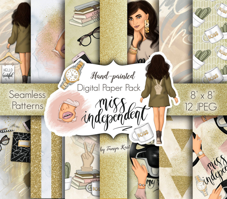 Miss Independent Digital Papers