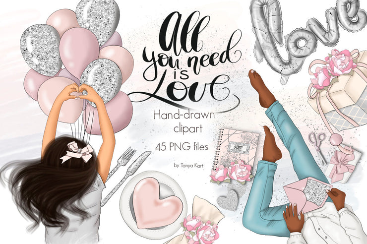 All You Need Is Love Clipart