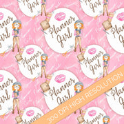 Planner Girl Digital Watercolor Paper