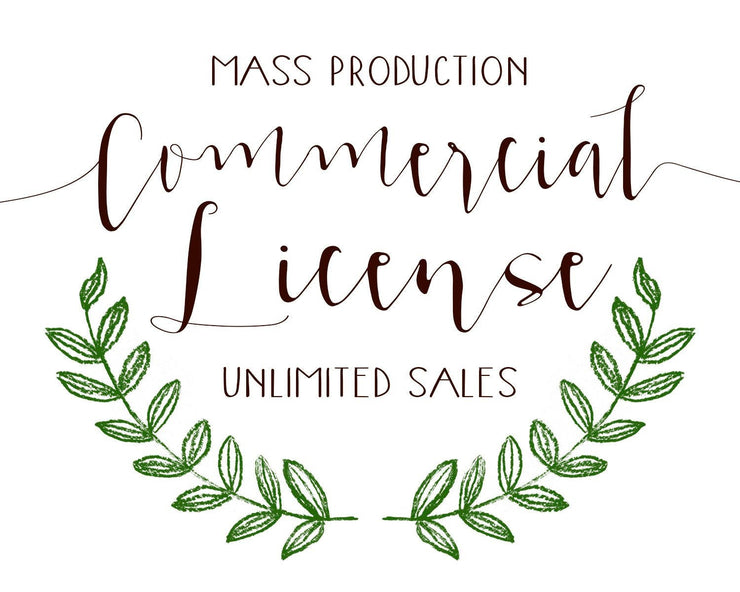 Commercial  License Mass Production