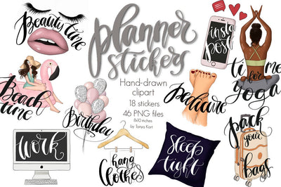 Planner Clipart Diy Stickers