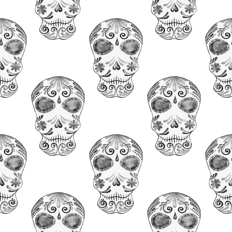 Skulls Collection Hand-Painted Clipart