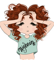 Red Hair Girls Stickers Creator