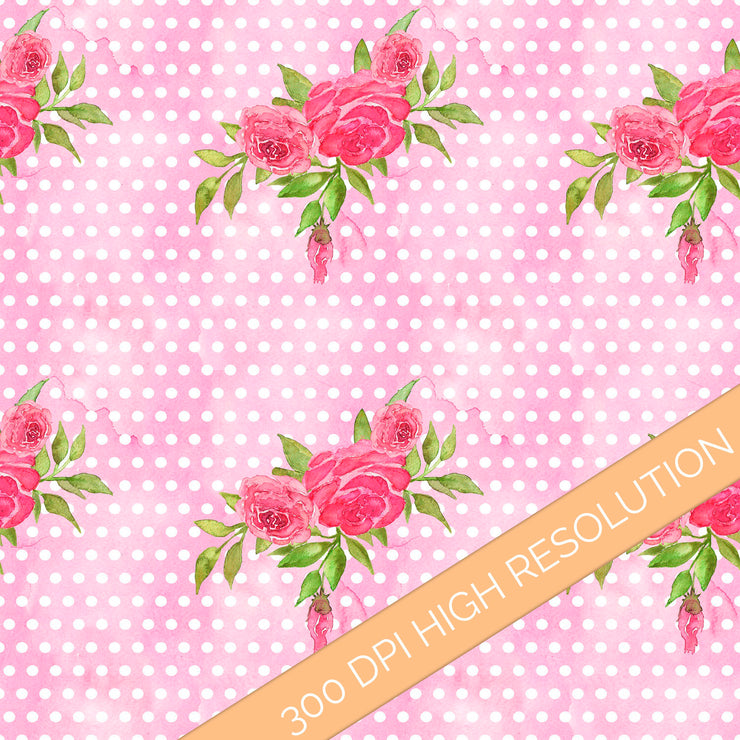 Pink Dreams Digital Paper
