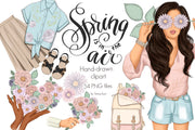 Spring Is In The Air Clipart