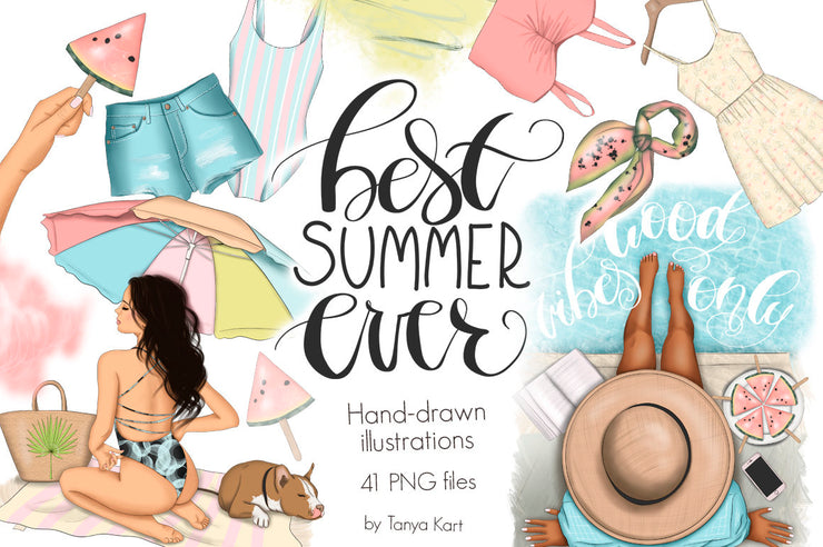 Best Summer Ever Clipart