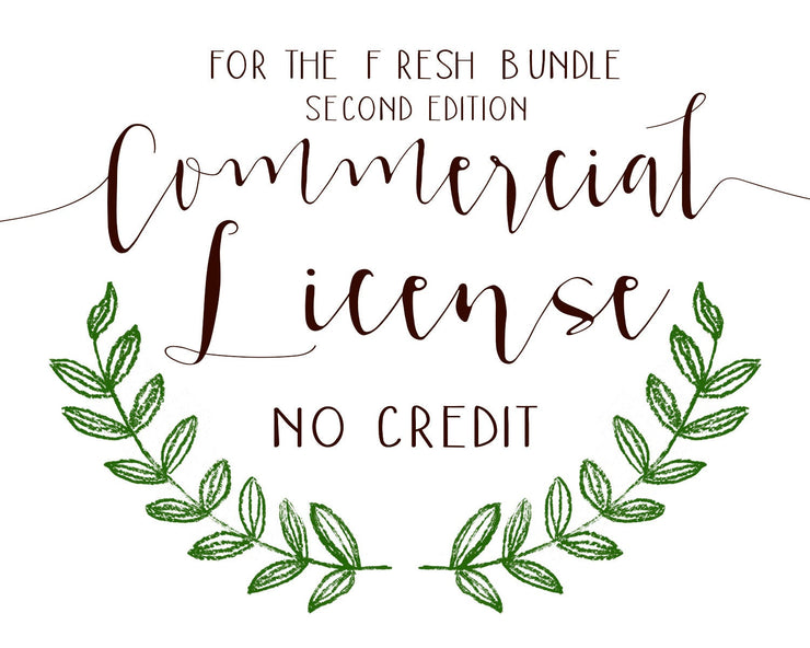 Commercial License The Fresh Bundle Second Edition