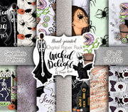 Wicked Delight Digital Paper