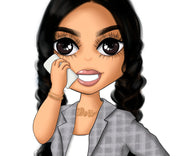 Business Woman Planner Icon