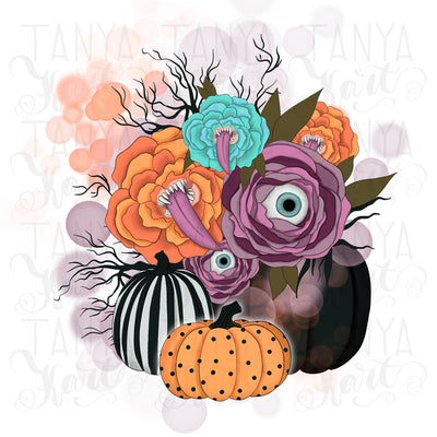 Whimsical Png Design Halloween Sublimation