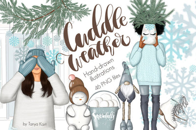 Cuddle Weather Clipart