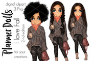 Planner Doll I Love Fall