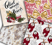It's The Most Wonderful Time Of The Year Christmas Digital Paper