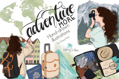 Adventure More Clipart
