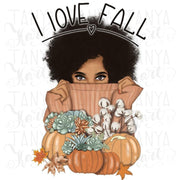 I Love Fall Sublimation