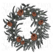 Wreath Christmas Sublimation