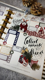 Wonderful Time Christmas weekly Kit for Happy Planner