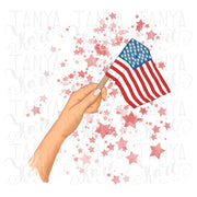 Sublimation File American Flag