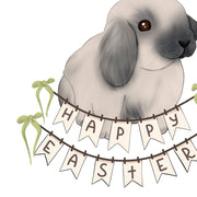 Happy Easter Png Bunny Sublimation
