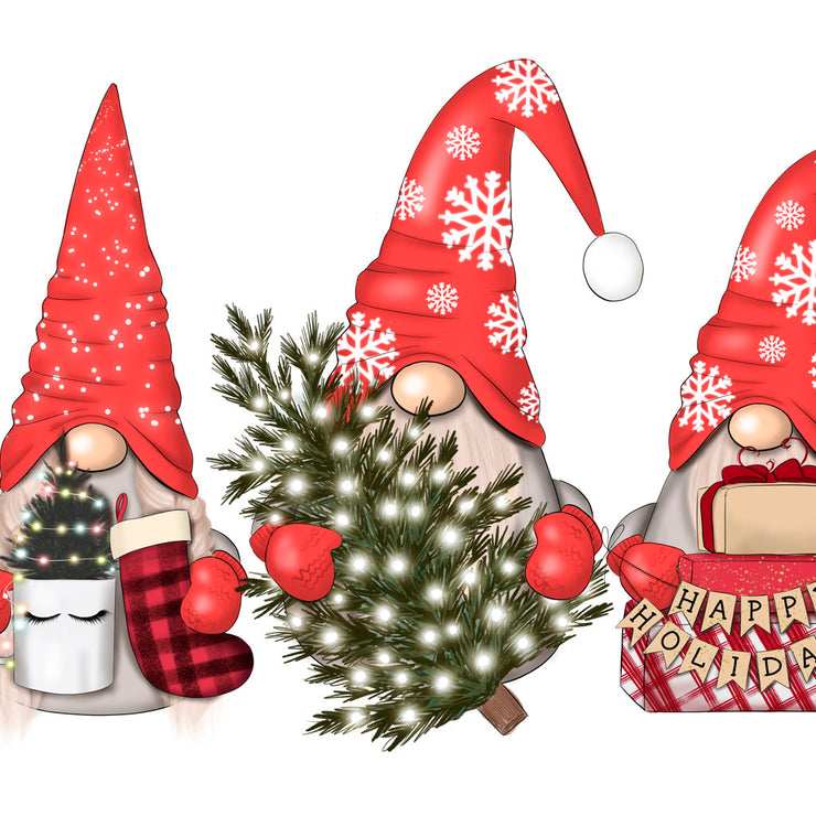 Gnome For Holidays Xmas Sublimation
