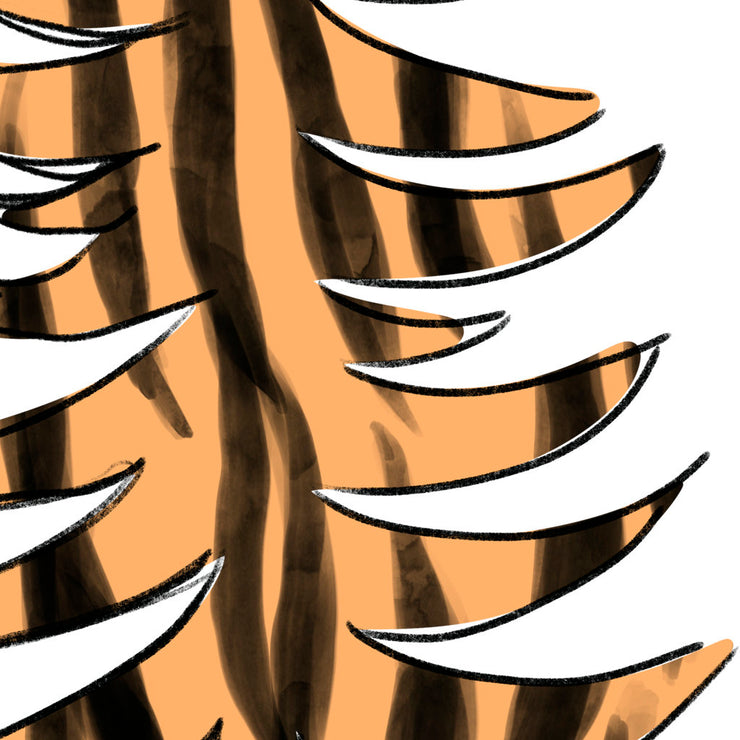 Tiger Tree Sublimation Design Png