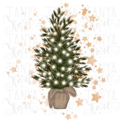 Christmas Tree Sublimation Png
