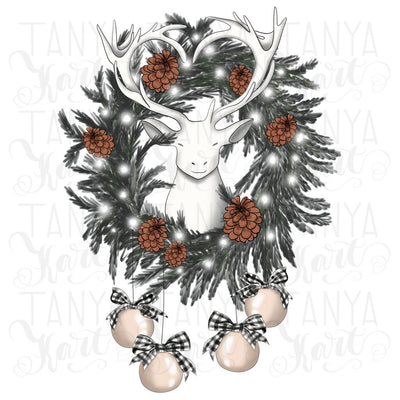 Wreath Sublimation Png For Printing