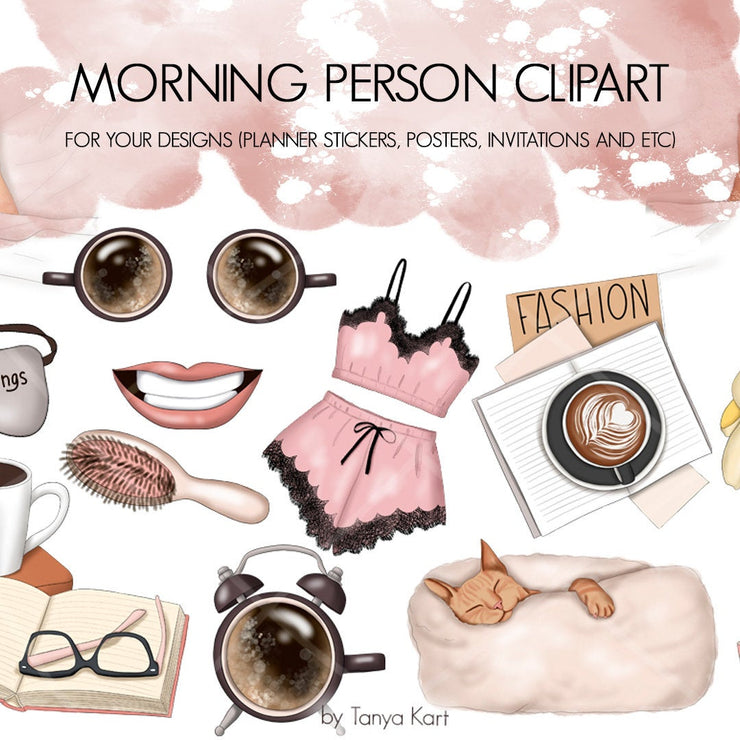 I'm Not A Morning Person Clipart