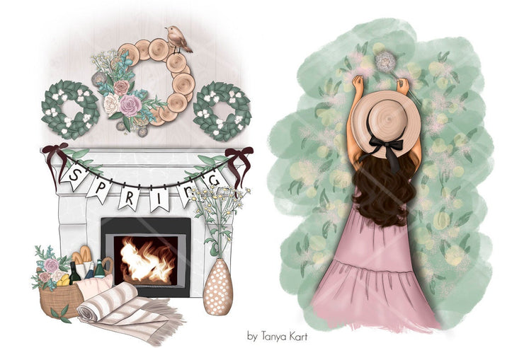 Think Spring Clipart