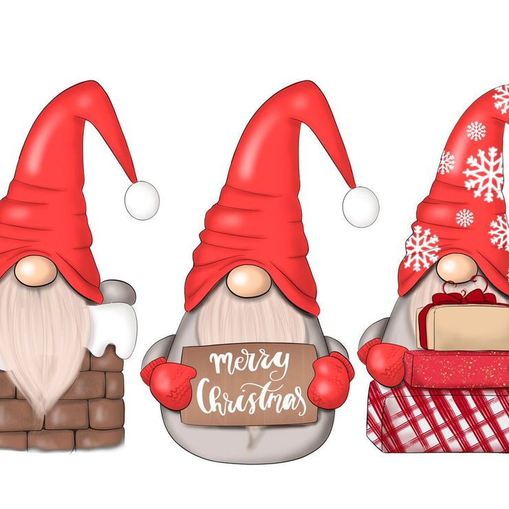Christmas Gnomes Sublimation