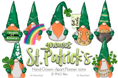 St Patricks Day Nordic Gnomes