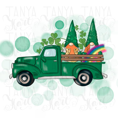 St.Patricks Truck Sublimation