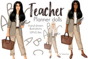 Teacher Planner Dolls